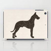great dane iPad Cases featuring Dog III - Great Dane by Alisa Galitsyna