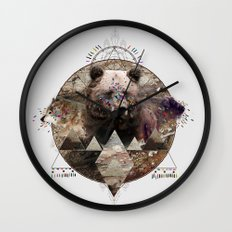 ANIMAL ECHOES Wall Clock