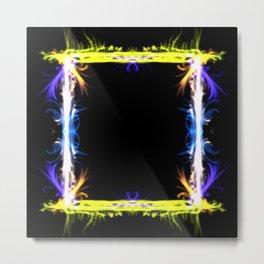 Flares Window Metal Print