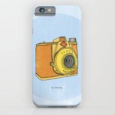 So Analog Slim Case iPhone 6s