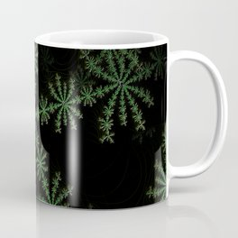 Neon black star pattern Coffee Mug