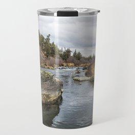 Deschutes River at Eagle Crest Travel Mug