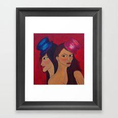 Show Girls Framed Art Print