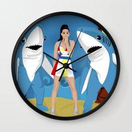 The Golden Coast Wall Clock
