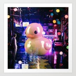 Rubber Duck Alley Art Print