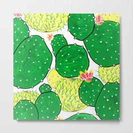 Cactus I Metal Print