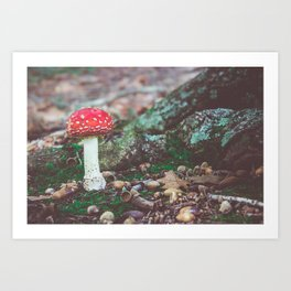 Under the Oak Art Print