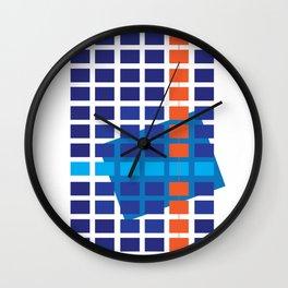 Jean Talon Station , Montreal Wall Clock