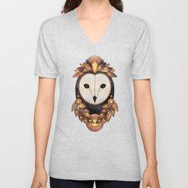 Owl 3 Unisex V-Neck