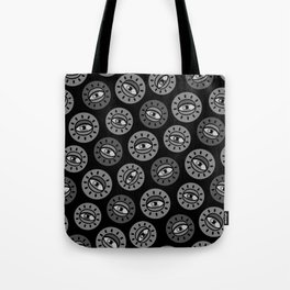 Eyecon (b/w) Tote Bag