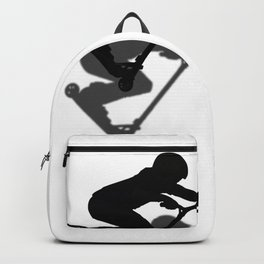 Scooter Boy - Stunt Scooter #5 Silhouette Backpack