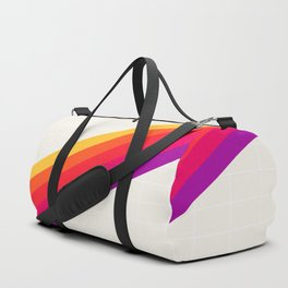 VHS Rainbow 80s Video Tape Duffle Bag