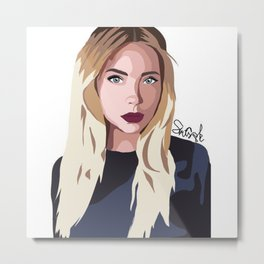 Ashley Benson Metal Print