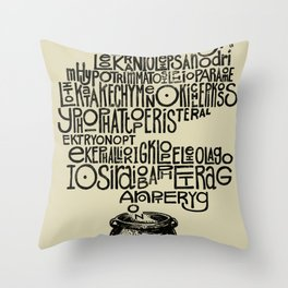 Something smells good! Throw Pillow