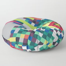 cuadro mosaico Floor Pillow
