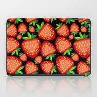 strawberry iPad Cases featuring Strawberry by LaDa