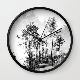 Woodland Wall Clock