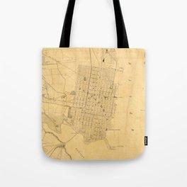 Vintage Map of Alexandria VA (1864) Tote Bag