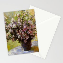 Claude Monet Bouquet of Mallows 1880 Stationery Cards