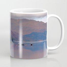 Argyll Scotland loch peaceful boats Coffee Mug