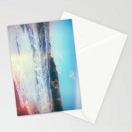 California Sunshine Waves Stationery Cards