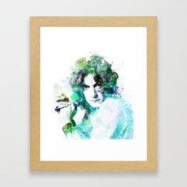 R. Plant 2 Framed Art Print