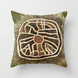 Ancestry / Map Throw Pillow