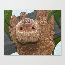 Hang in there buddy Canvas Print