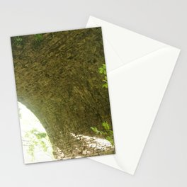 Looking Up Under An Arch Of Monmouth's Viaduct Stationery Cards