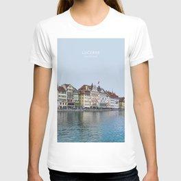 Lucerne, Switzerland Travel Artwork T-shirt