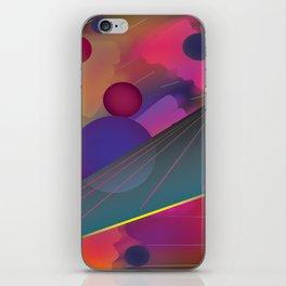 Trip Through the Cosmos iPhone Skin