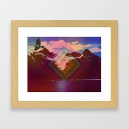 Into another dimension Framed Art Print