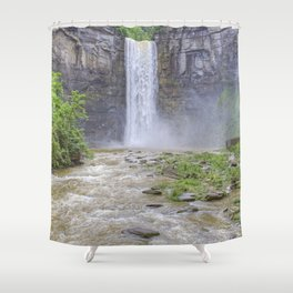 Taughannock Falls, Ithaca, NY Shower Curtain