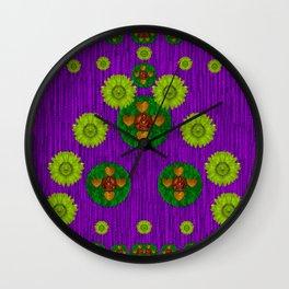 Love fantasy Buddha blessings Wall Clock