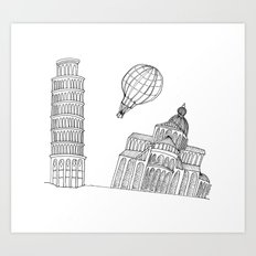 Point of view... Art Print