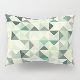 colorful Triangles 2 Pillow Sham
