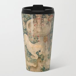 The Hunt of the Unicorn Travel Mug