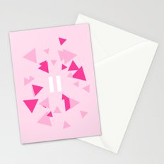 Opposite III Pause Pink Stationery Cards