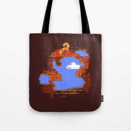 Brick Breaker Tote Bag