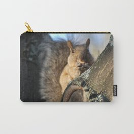 Brown Squirrel Carry-All Pouch