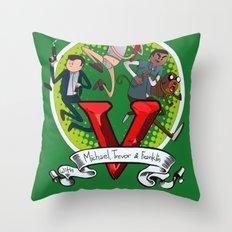 GTA TIME!! Throw Pillow