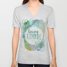Being Remade - Watercolor Unisex V-Neck