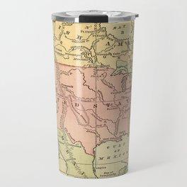 North America Vintage Map Travel Mug