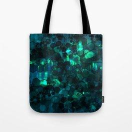 Fever Pitch - Aqua Variant Tote Bag