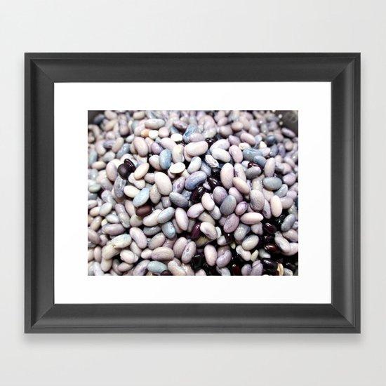 Beans 1 Framed Art Print