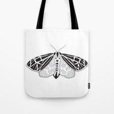Virgin Tiger Moth Tote Bag