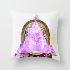 Mirror mirror on the wall who's the fairest of them all Throw Pillow
