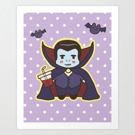 Kawaii Little Count Art Print