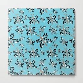 butterfly dots Metal Print
