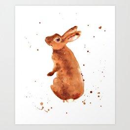 bunny rabbit, beatrix potter lover, rabbit, bunny, bunny lover Art Print